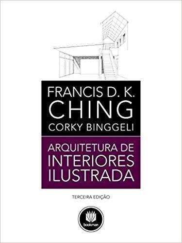 Livro Arquitetura De Interiores Ilustrada 3ed
