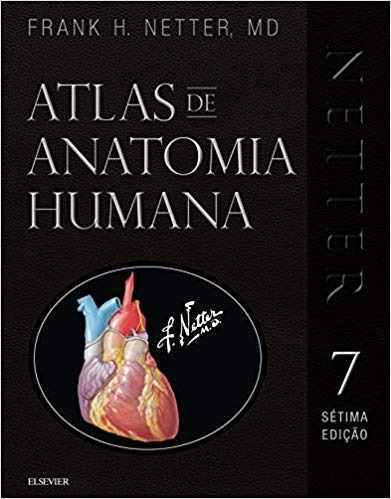 Netter Atlas de Anatomia Humana 3D Especial 7ª Ed 2019