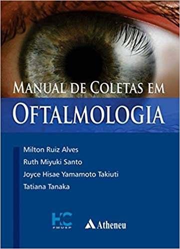 Livro Manual De Coletas Em Oftalmologia