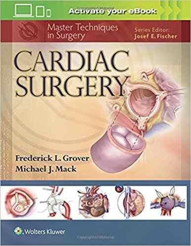 Livro Master Techniques In Surgery Cardiac Surgery
