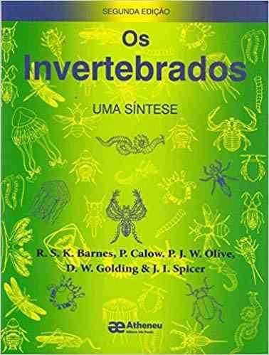 Livro Os Invertebrados