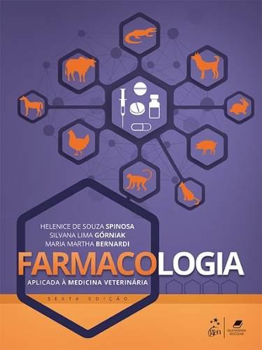 Livro Farmacologia Aplicada À Medicina Veterinária