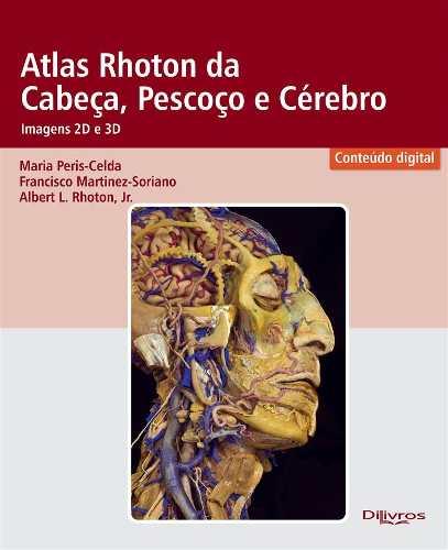 Atlas Rhoton Da Cabeça Pescoço E Cérebro Imagem em 2D e 3Dimensão