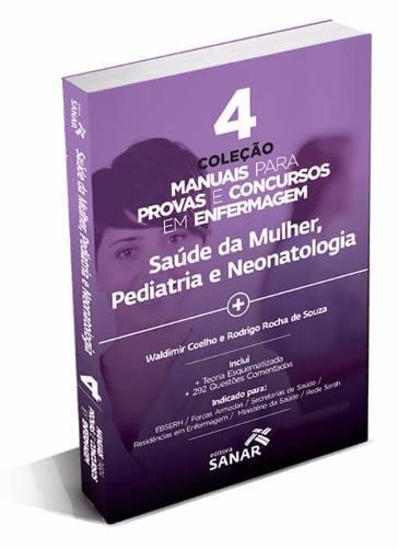 Livro V4 - Coleção Manuais Para Provas E Concursos Em Enfermagem