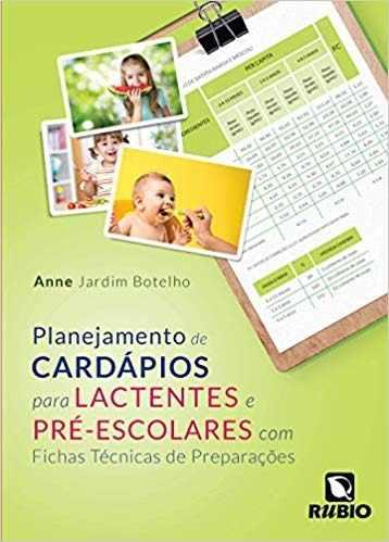 Livro Planej De Card Para Lact E Pré-Esco Com Fichas Técn De Prepa