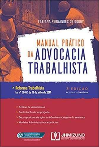 Livro Manual Prático Da Advocacia Trabalhista