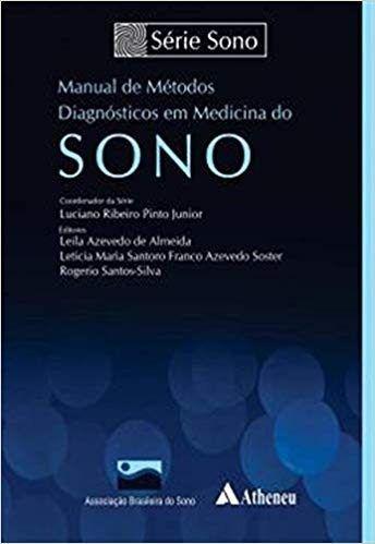 Livro Manual De Métodos Diagnósticos Em Medicina Do Sono