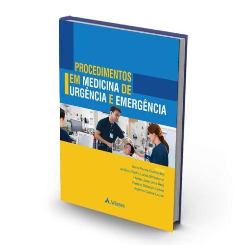 Livro Procedimentos Em Medicina De Urgencia E Emergencia