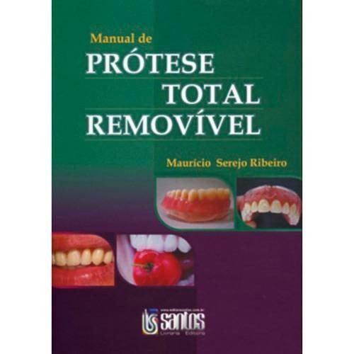 Livro Manual De Prótese Total Removível