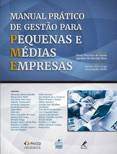Livro Manual Prático De Gestão Para Pequenas E Médias Empresas