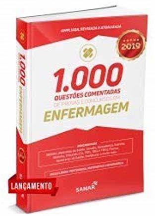 Livro 1.000 Questões Comentadas Provas E Concursos Em Enfermagem
