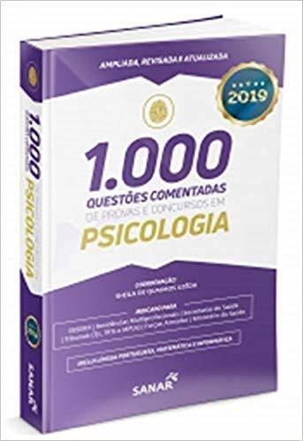 1.000 Questões Comentadas Provas E Conc Em Psicologia 2019