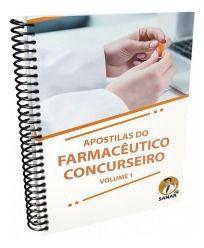 Livro Apostilas Do Farmacêutico Concurseiro - Volume 1