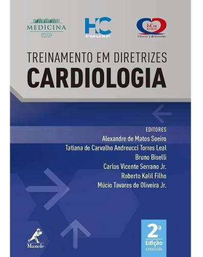 Livro Treinamento Em Diretrizes Cardiologia - 2ª Ed