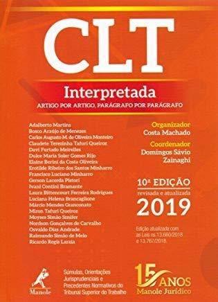 Clt Interpretadal Artigo Por Artigo, Parágrafo Por Parágrafo