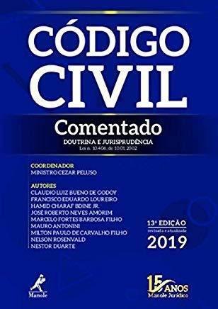 Livro Código Civil Comentado. Doutrina E Jurisprudência