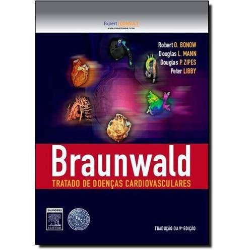 Livro Braunwald Tratado De Doenças Cardiovasculares - 2 Volumes