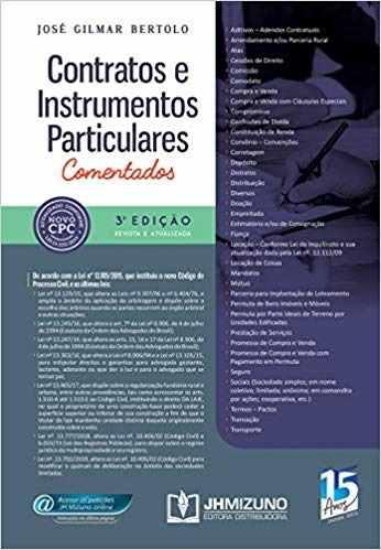 Livro Contratos E Instrumentos Particulares Comentados