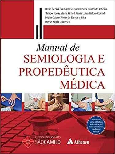 Livro Manual De Semiologia E Propedêutica Médica