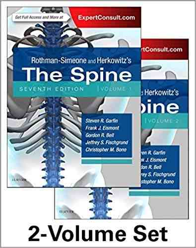 Livro Rothman-Simeone And Herkowitzs The Spine 2 Vol