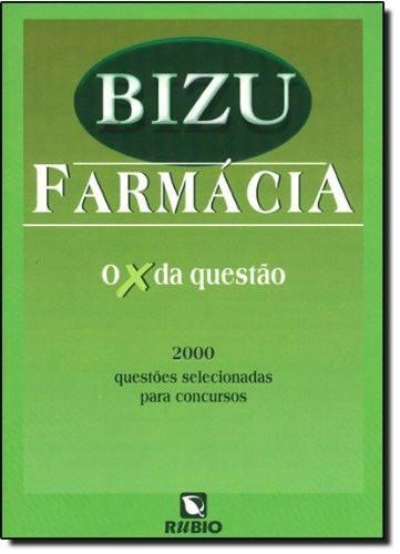 Livro Bizu De Farmácia 2.000 Questões Para Concursos