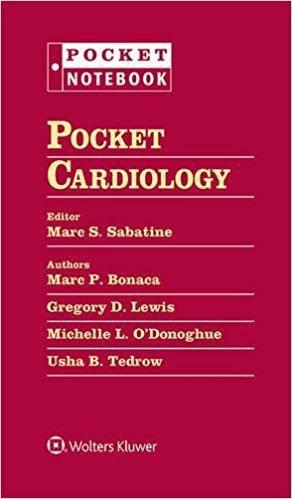 Livro Pocket Medicine Cardiology Subspecialty