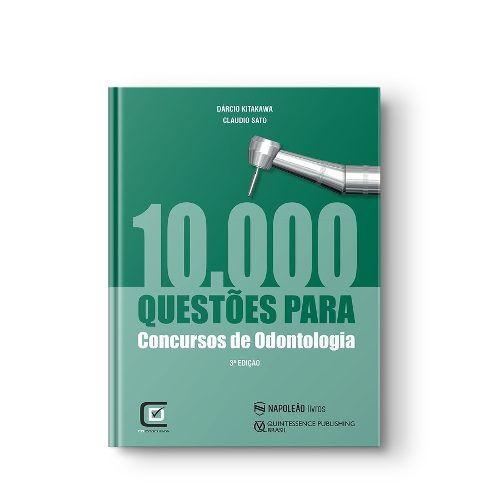 Livro 10.000 Questões Para Concursos De Odontologia 3ªed