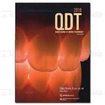 Livro Qdt 2018 Quintessence Of Dental Technology