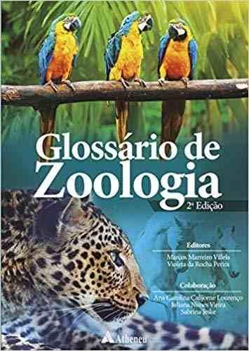 Livro Glossário De Zoologia 2ª Edição