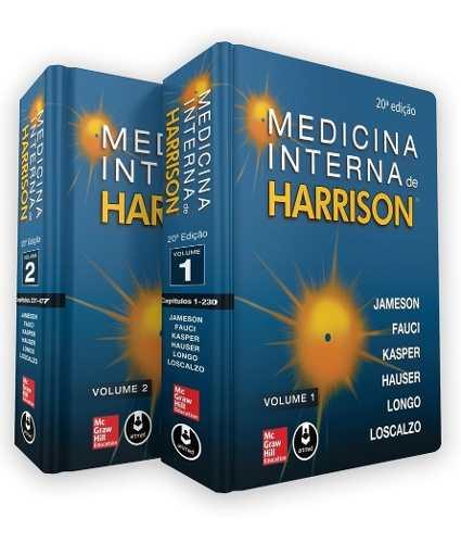Medicina Interna De Harrison 2 Volumes 20ª Ed. 2020