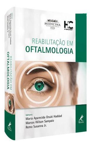 Livro Reabilitação Em Oftalmologia