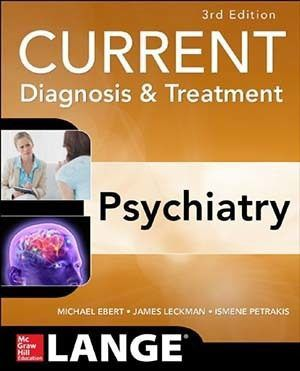 Livro Current Diagnosis And Treatment Psychiatry