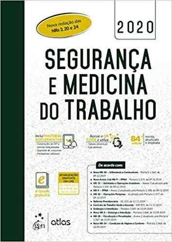Livro Segurança E Medicina Do Trabalho, 84ª Ed 2020