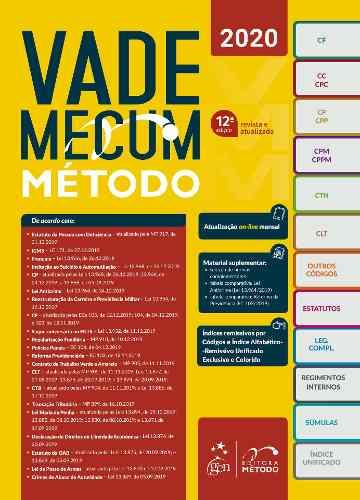 Livro Vade Mecum Tradicional Método 2020