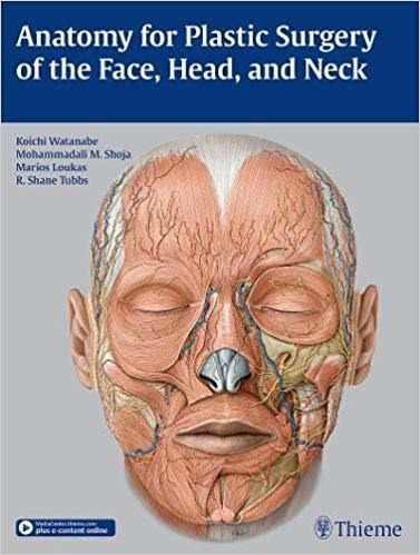 Livro Anatomy For Plastic Surgery Of The Face,head And Nec