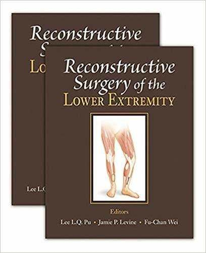 Livro Reconstructive Surgery Of The Lower Extremity