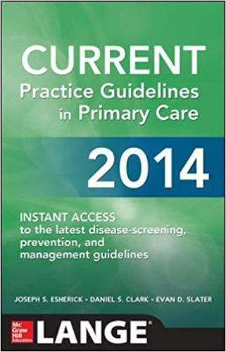 Livro Current Practice Guidelines In Primary Care 2014