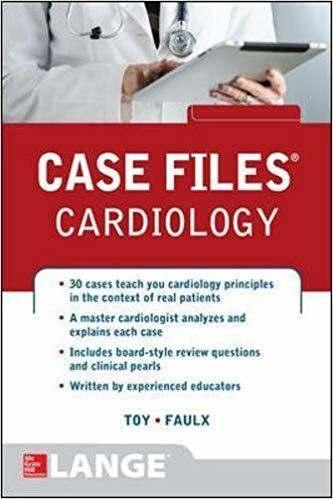 Livro Case Files Cardiology, 1ª Ed 2015