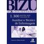 Livro Bizu - Auxiliar E Técnico De Enfermagem - 1.300 Questões