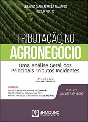 Tributação No Agronegócio, 2ª Ed 2020