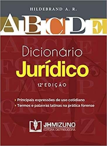 Dicionário Jurídico, 12ª Ed 2020