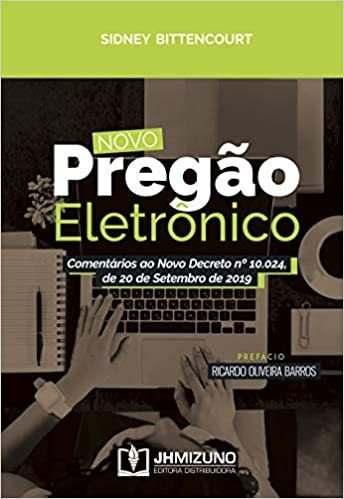 Livro Novo Pregão Eletrônico, 1ª Ed 2020