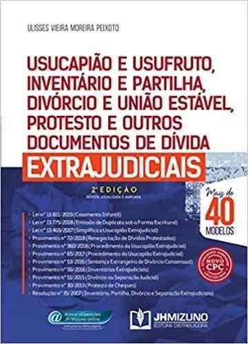 Usucapião E Usufruto, Inventário E Partilha, Divórcio, Etc