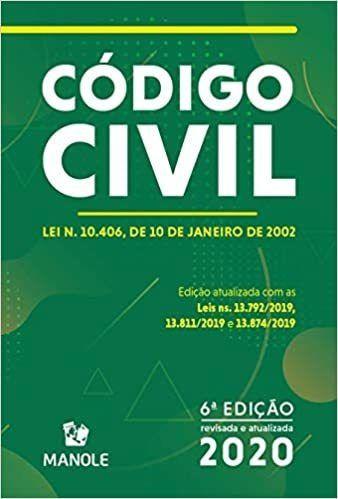 Livro Código Civil 6ª Ed. Lei N. 10.406