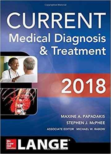 Livro Current Medical Diagnosis And Treatment 2018