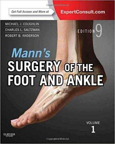 Livro Mann's Surgery - The Foot And Ankle 2 Vols Expert Online Too