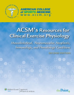 Livro ACSM's Resources for Clinical Exercise Physiology