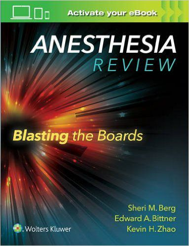 Livro Anesthesia Review - Blasting The Boards