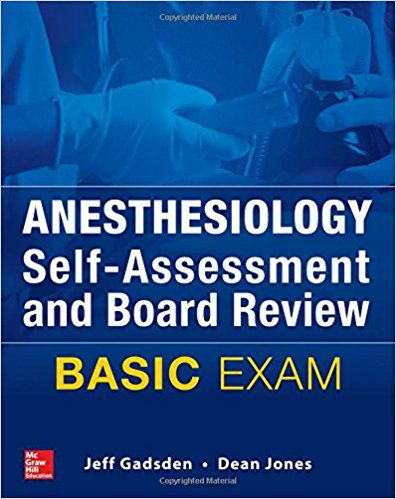 Livro Anesthesiology Self-Assessment and Board Review: BASIC Exam