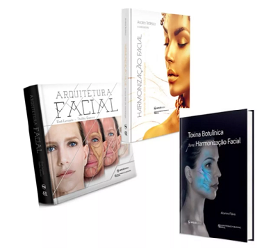 Kit Arquitetura Facial+Harmonização Facial+Toxina Botulínica